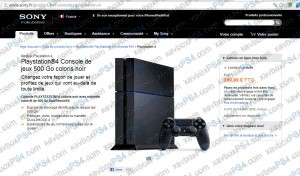 achat ps4