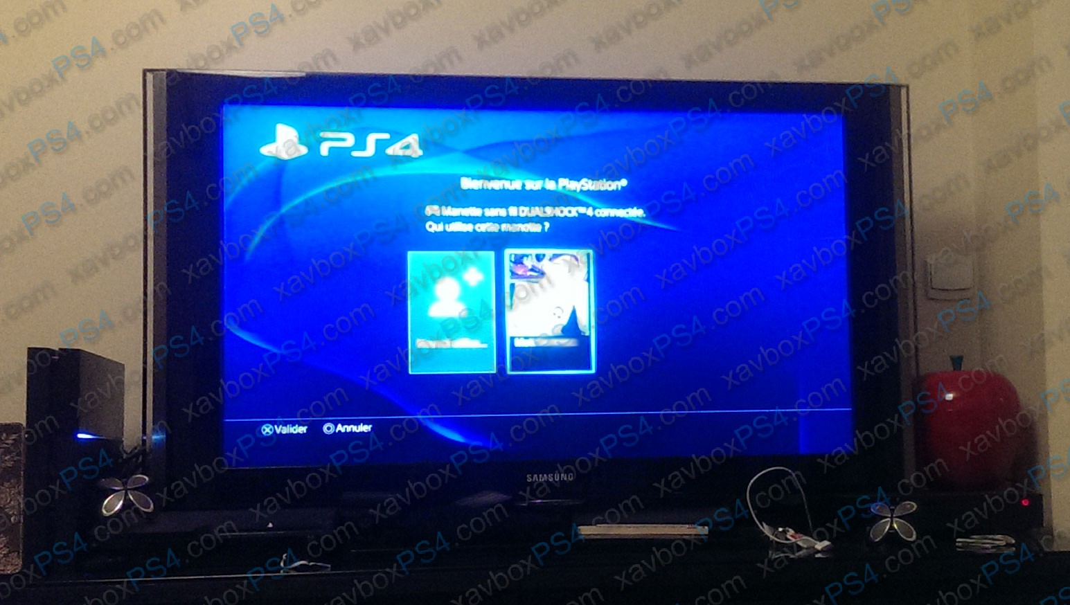 Test ps4 for Meuble tv 2m50